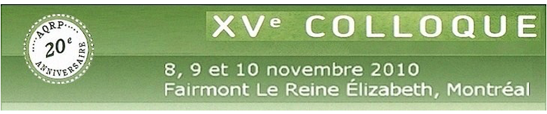 colloque xv